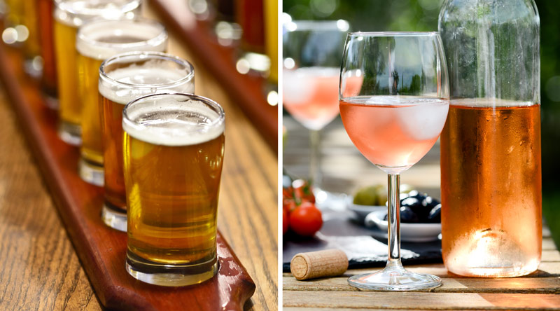 Rosé and cider festival
